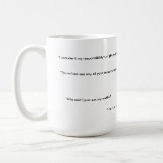 だれがありますか。 I -オバマの評判が悪い引用文 コーヒーマグカップ