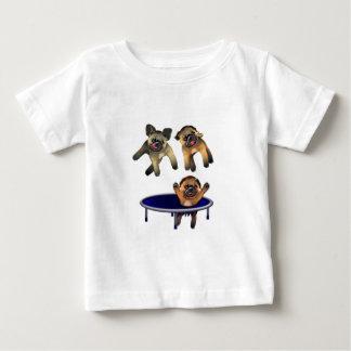 だれがパグを放ったか ベビーTシャツ
