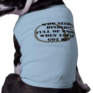 だれが女性のつなぎを十分に必要とするか ペット服