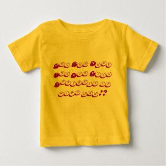 だれが日曜日の上昇に露とそれを振りかけさせますことができます!か。 ベビーTシャツ