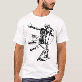 だれが最後に笑うか Tシャツ