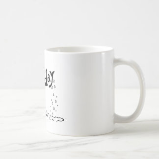 だれが月曜日を好むか! コーヒーマグカップ