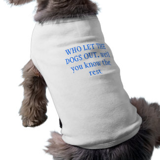 だれが犬を放ったか ペット服