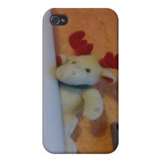 だれが私をアメリカヘラジカ所有するか iPhone 4/4S カバー