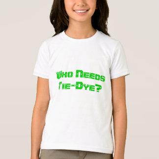 だれが絞り染めを必要としますか。 Tシャツ