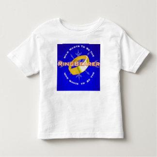 だれがringbearerでありたいと思いますか。 トドラーTシャツ