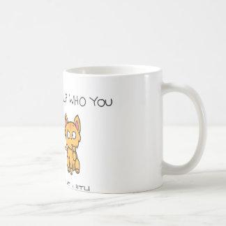 だれに恋するか救済できません コーヒーマグカップ