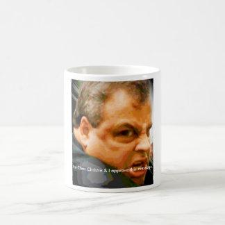 だれのかuのlookinクリスChristieか-か。! コーヒーマグカップ