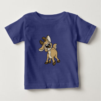 だれの私か。 子鹿 ベビーTシャツ