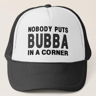 だれもコーナーにBUBBAを置きません キャップ
