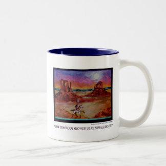 だれもハルマゲドンで現れなかったら何か。 ツートーンマグカップ