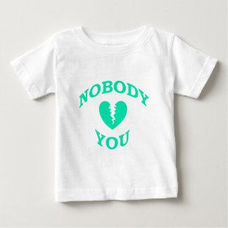 だれも愛しません ベビーTシャツ