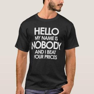 だれも(暗闇) Tシャツ