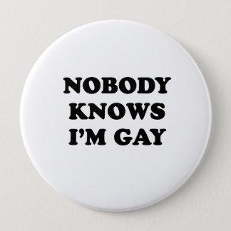 だれもImゲイを知りません 10.2cm 丸型バッジ