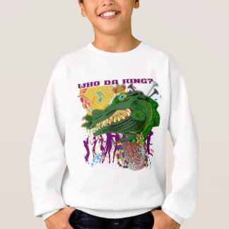 だれスタイル2 Gator Front王背部か   Da王 スウェットシャツ
