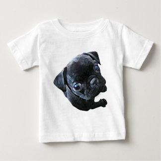 だれ私か。 幼児ワイシャツ(ライト) ベビーTシャツ