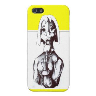 だれ私か。 iPhone 5 カバー