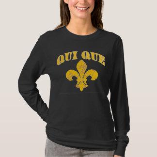 だれDatのフランスのな(紋章の)フラ・ダ・リTか Tシャツ