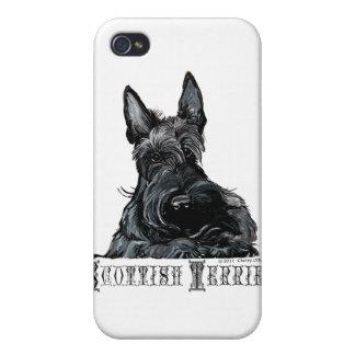ちっぽけなスコットランドテリア iPhone 4 カバー