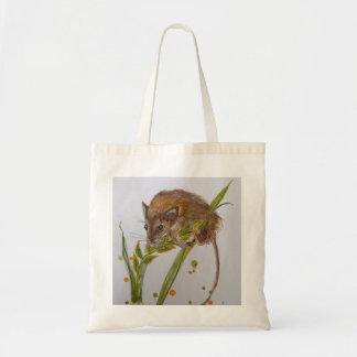 ちっぽけなマウスのカヤネズミの買い物袋 トートバッグ
