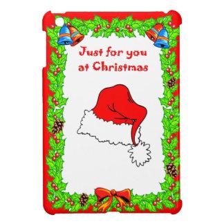 ちょうどあなたのためにこのクリスマス、サンタの帽子 iPad MINIケース