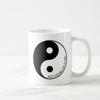 ちょうどこの惑星を訪問すること コーヒーマグカップ