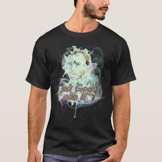 ちょうどそれと行って下さい! フィンセント・ファン・ゴッホの捧げ物のデザイン Tシャツ