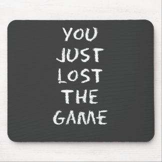 ちょうどゲームを失った マウスパッド