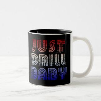 ちょうどドリルのベビー ツートーンマグカップ