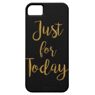 ちょうど今日の金ゴールドの引用文のオウムNA 12のステップ回復のために iPhone SE/5/5s ケース