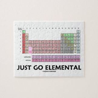 ちょうど元素に行って下さい(要素の周期表) ジグソーパズル