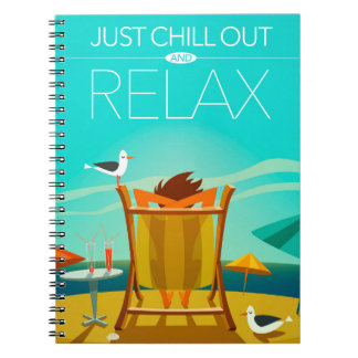 ちょうど冷やし、リラックスして下さい ノートブック