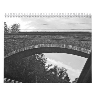 ちょうど単語(白黒写真) カレンダー