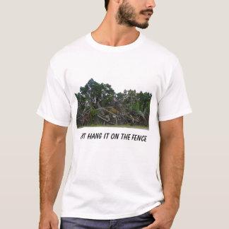 ちょうど塀のそれをつるして下さい Tシャツ