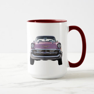 """""""ちょうど始まります""""。 「57 Chevyのコーヒー・マグ マグカップ"""