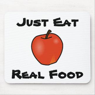 ちょうど実質の食糧を食べて下さい マウスパッド
