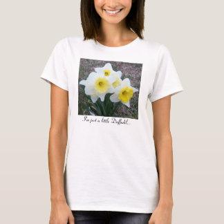 ちょうど小さいラッパスイセンの…ワイシャツ Tシャツ