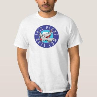 ちょうど平らでくだらない価値ティー Tシャツ