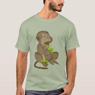 ちょうど平均日猿 Tシャツ