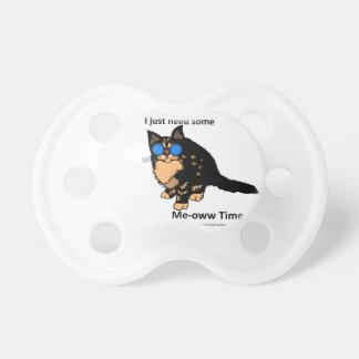 ちょうど必要性の猫の鳴き声の時間 おしゃぶり