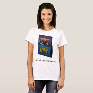 ちょうど持っていますdoriteをリラックスして下さい tシャツ