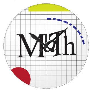 ちょうど数学 ラージ壁時計