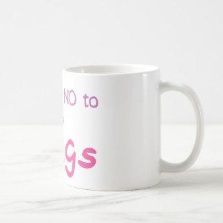 ちょうど断って下さい(ピンク) コーヒーマグカップ