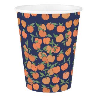 ちょうど桃色のモモ 紙コップ