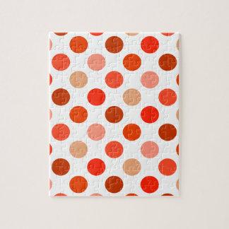 ちょうど桃色の水玉模様 ジグソーパズル