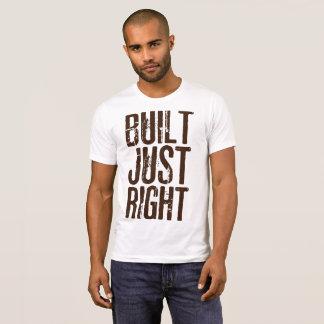 ちょうど正しく造られる Tシャツ