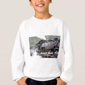 ちょうど気違い: 蒸気機関コロラド州3 スウェットシャツ