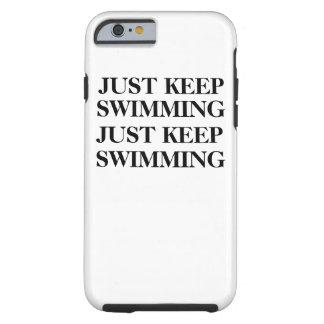 ちょうど水泳の場合を保って下さい ケース