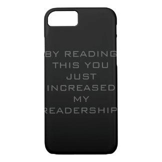 ちょうど私の読者層の電話箱を増加しました iPhone 8/7ケース