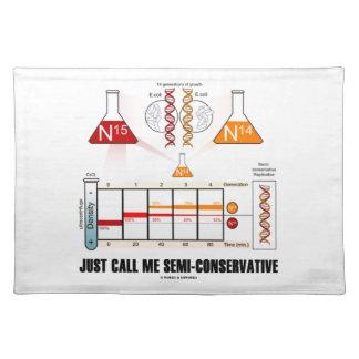 ちょうど私を半保守的電話して下さい(DNAの写し) ランチョンマット